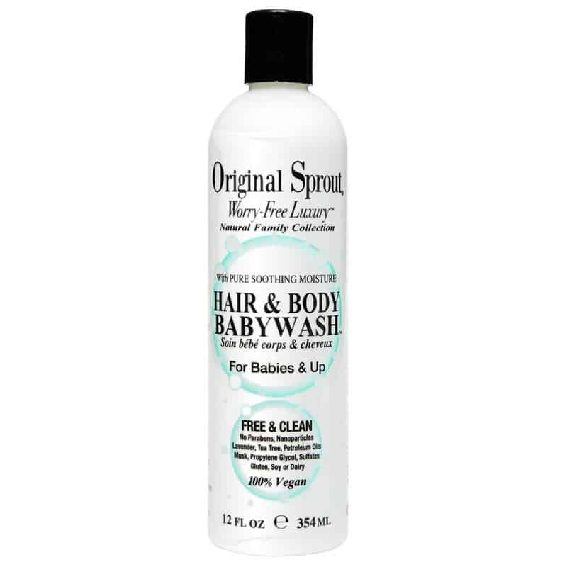 Original Sprout Hair and Body Baby Wash 354ml