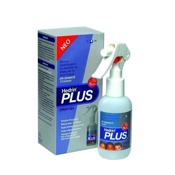 Arriani Hedrin Plus Spray Gel Αντιφθειρική Γέλη 100ml