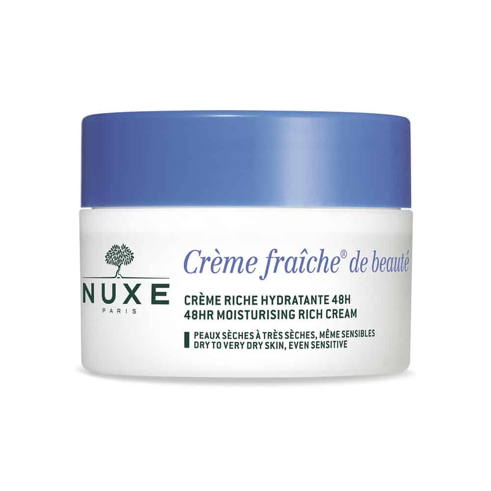 Nuxe Creme Fraiche de Beauté Riche Hydratante 48h, Κρέμα Πλούσιας Υφής 48ωρης Ενυδάτωσης 50ml