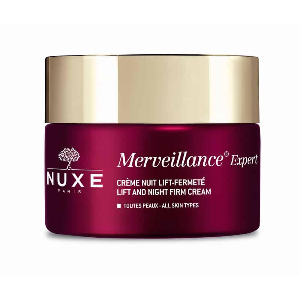 Nuxe Merveillance Expert Nuit Αντιρυτιδική Κρέμα Νύχτας Για Όλους Τους Τύπους Επιδερμίδας 50ml