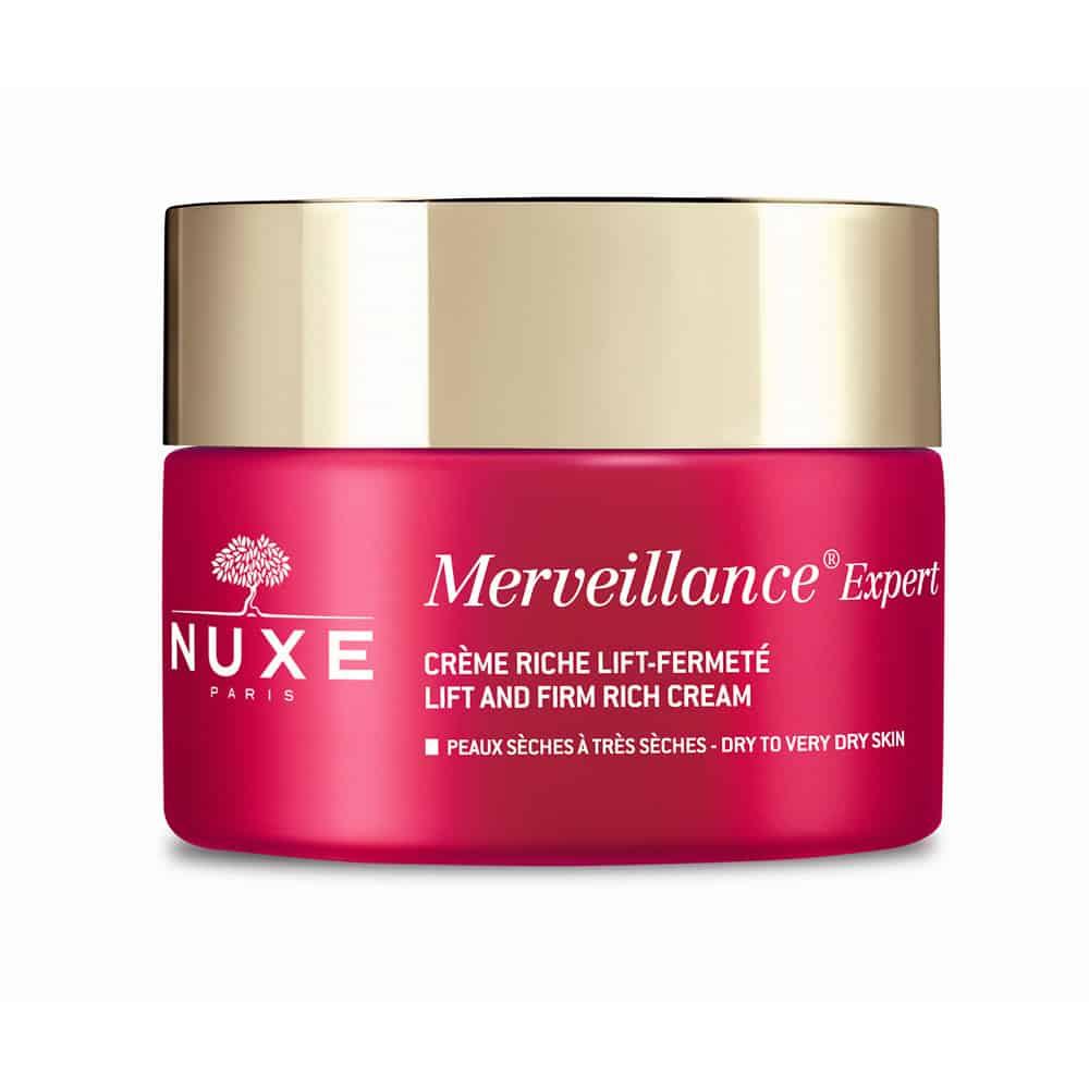 Nuxe Merveillance Expert Crème, Κρέμα Lifting Και Σύσφιξης Πλούσιας Υφής για Ξηρές Επιδερμίδες 50ml