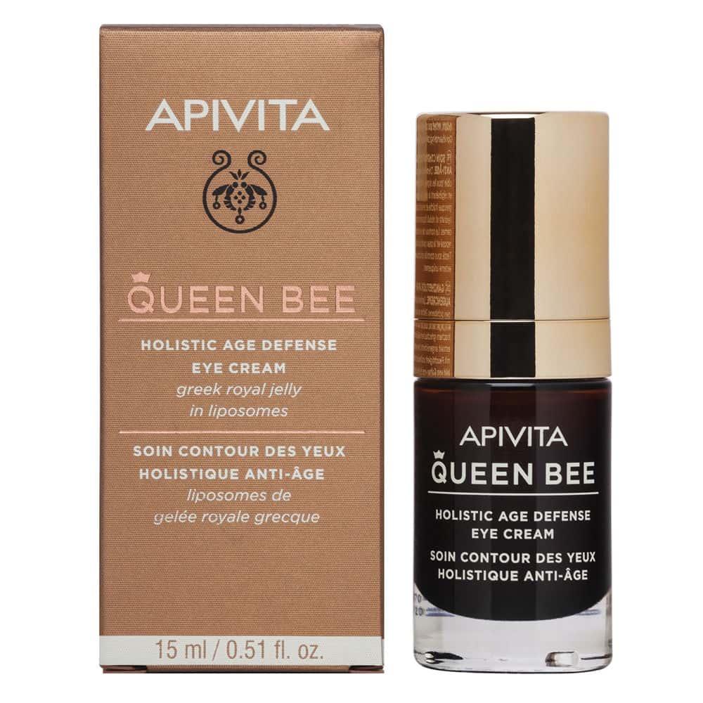 Apivita Queen Bee Κρέμα Ματιών Ολιστικής Αντιγήρανσης 15ml