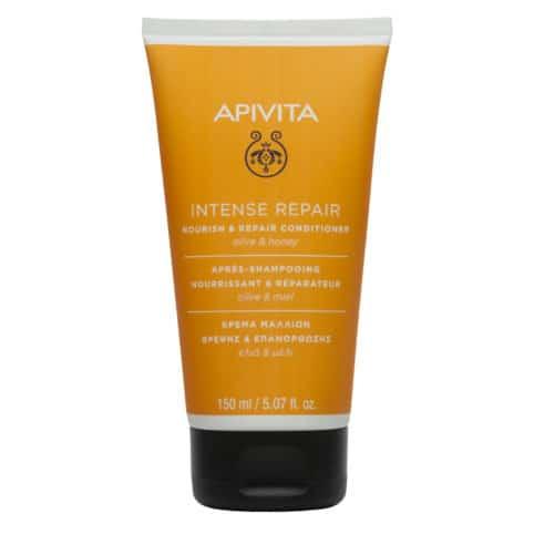 Apivita Apivita Intense Repair Κρέμα Μαλλιών Θρέψης & Επανόρθωσης Με Ελιά & Μέλι, 150ml