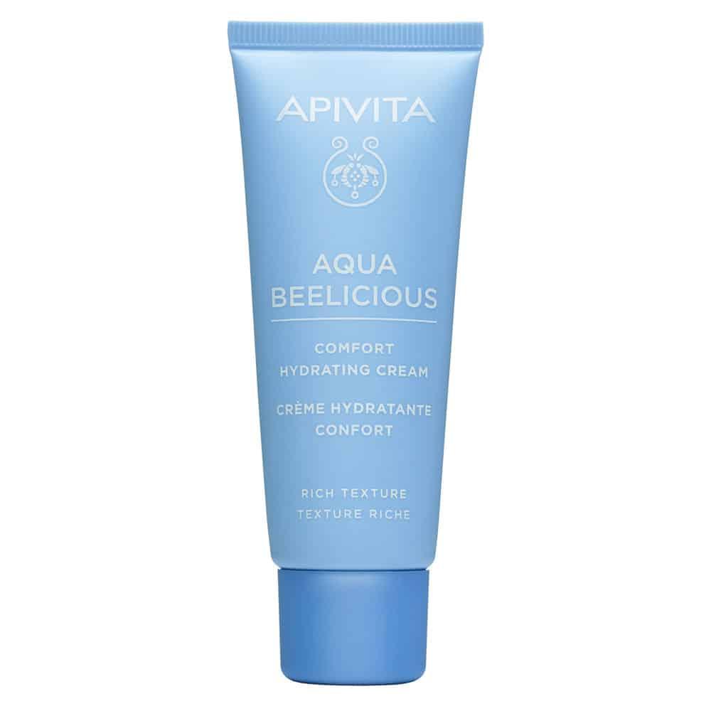 Apivita Aqua Beelicious Comfort Hydrating Cream Απαλή Κρέμα Ενυδάτωσης Πλούσιας Υφής 40ml