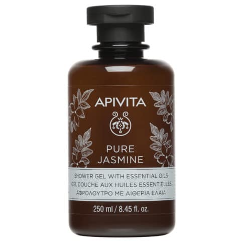 Apivita Pure Jasmine Γιασεμί Aφρόλουτρο με Aιθέρια Έλαια 250ml