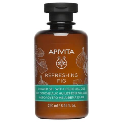 Apivita Refreshing Fig Shower Gel Αφρόλουτρο με Αιθέρια Έλαια 250ml
