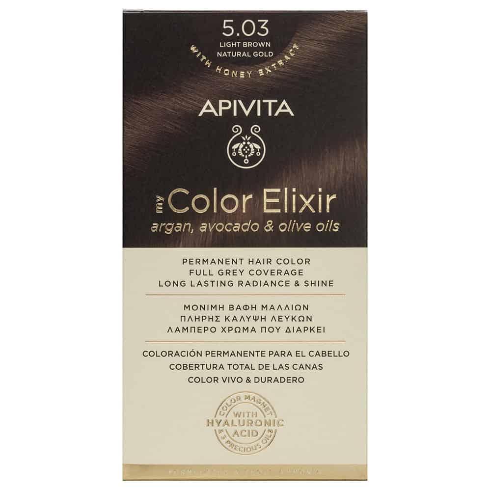 Apivita My Color Elixir N5.03 Καστανό ανοιχτό φυσικό μελί
