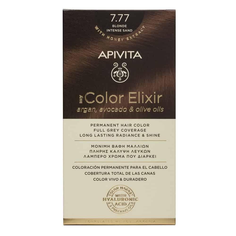 Apivita My Color Elixir N7.77 Ξανθό έντονο μπεζ