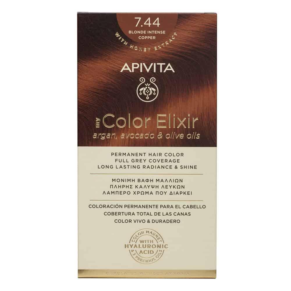 Apivita My Color Elixir N7.44 Ξανθό έντονο χάλκινο