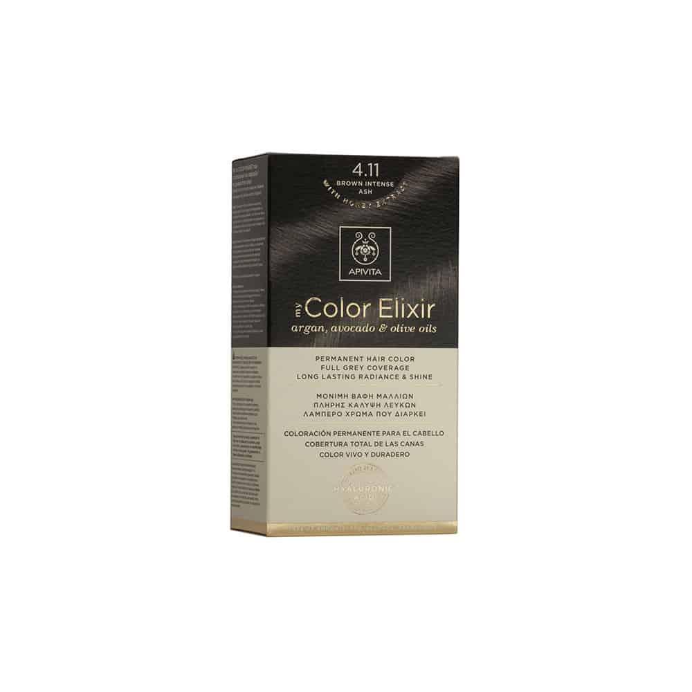 Apivita My Color Elixir N4,11 Καστανό έντονο