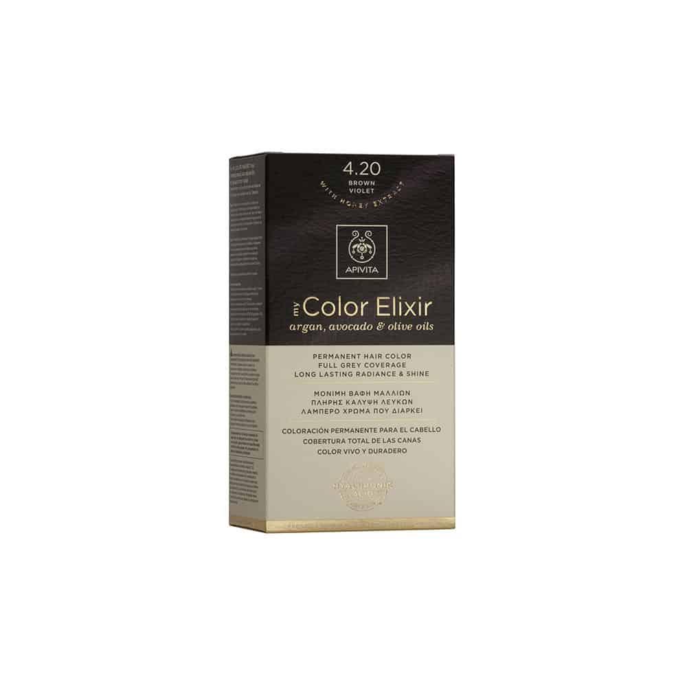 Apivita My Color Elixir N4.20 Καστανό βιολετί