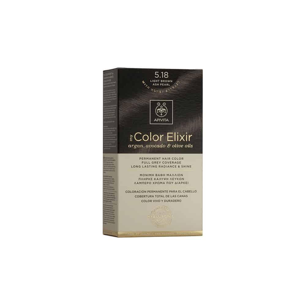 Apivita My Color Elixir N5.18 Καστανό ανοιχτό σαντρέ