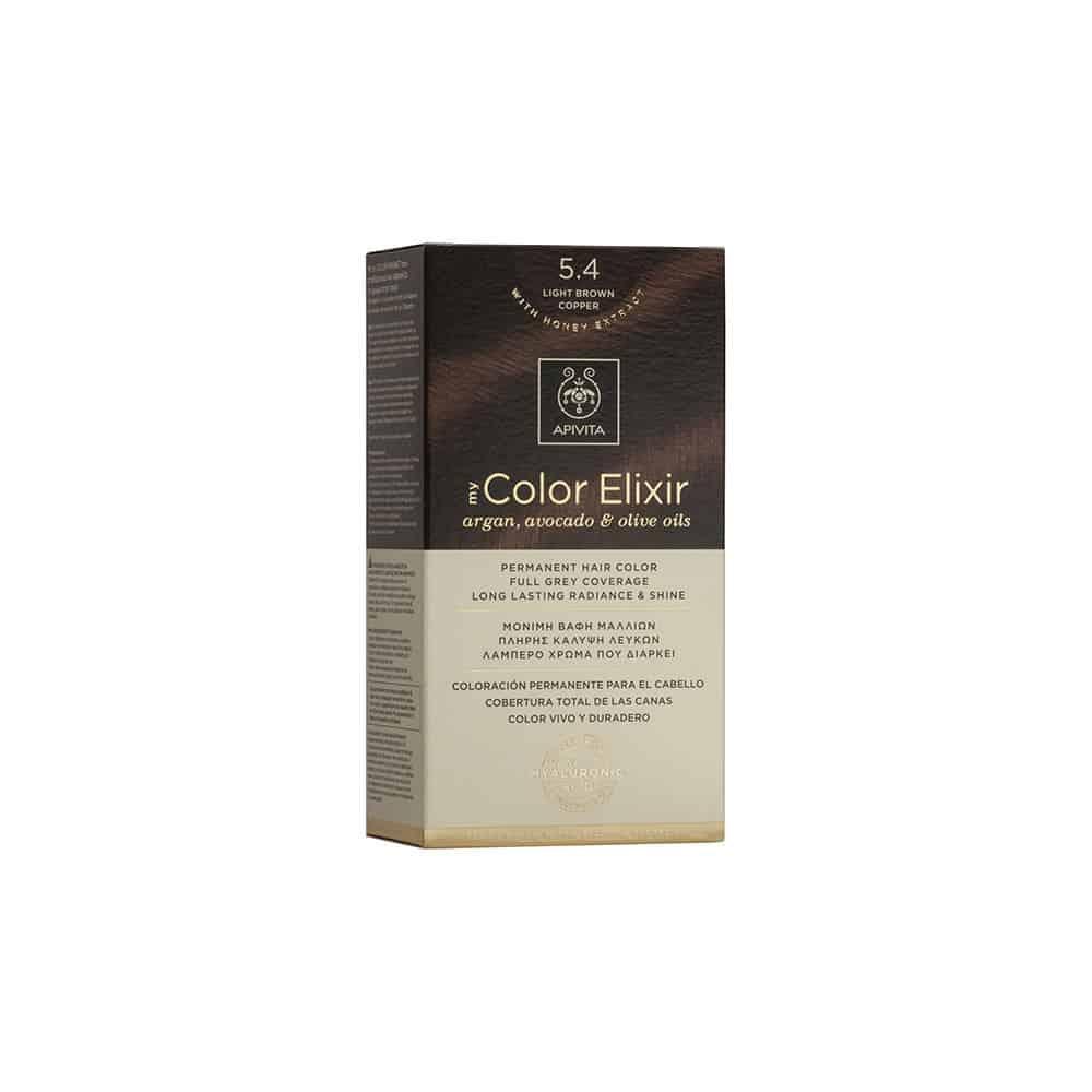 Apivita My Color Elixir N5.4 Καστανό ανοιχτό χάλκινο