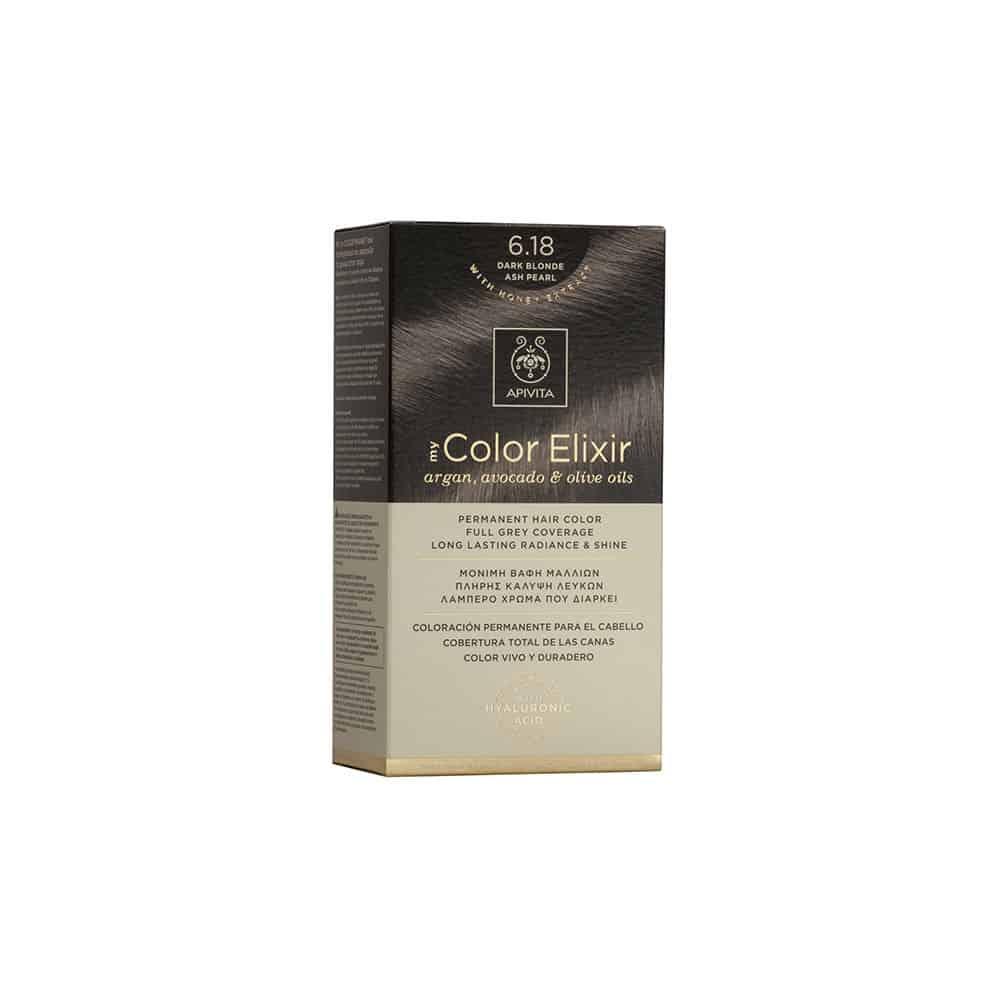 Apivita My Color Elixir N6.18 Ξανθό Σκούρο Σαντρέ