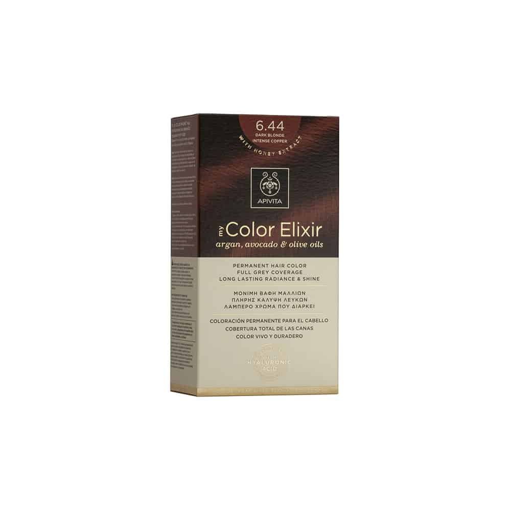 Apivita My Color Elixir N6.44 Ξανθό σκούρο έντονο χάλκινο