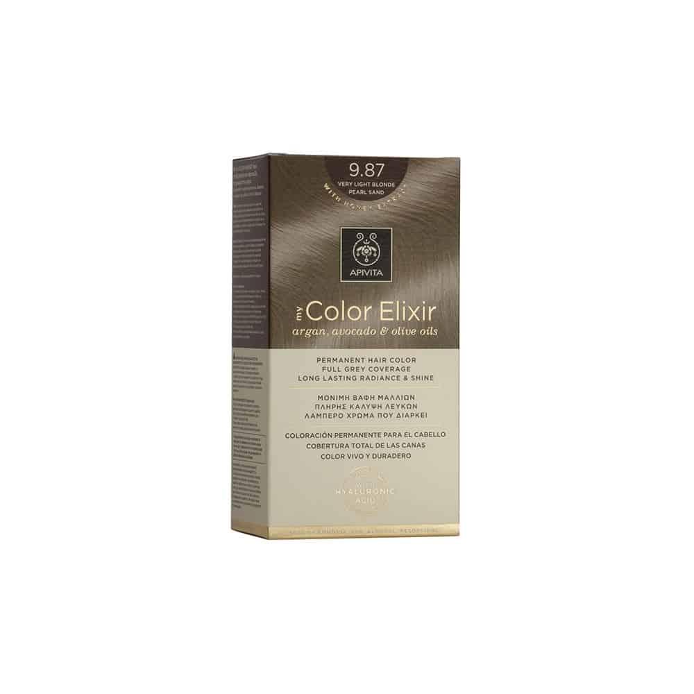 Apivita My Color Elixir N9.87 Ξανθό πολύ ανοιχτό περλέ μπεζ