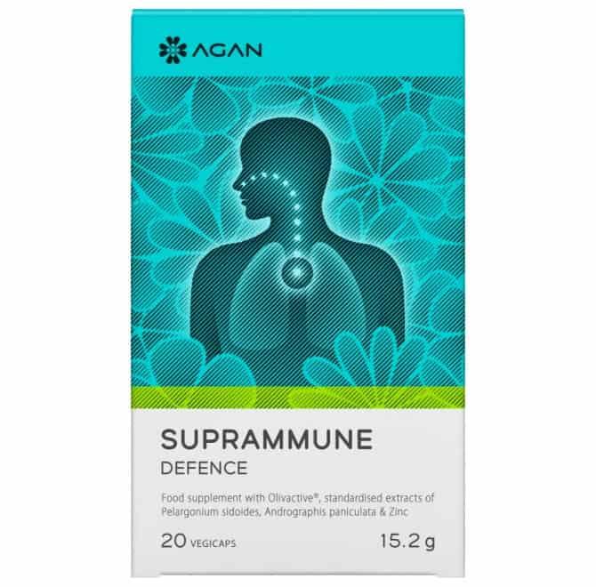 Agan Suprammune Defence 15.2gr, 20 φυτικές κάψουλες