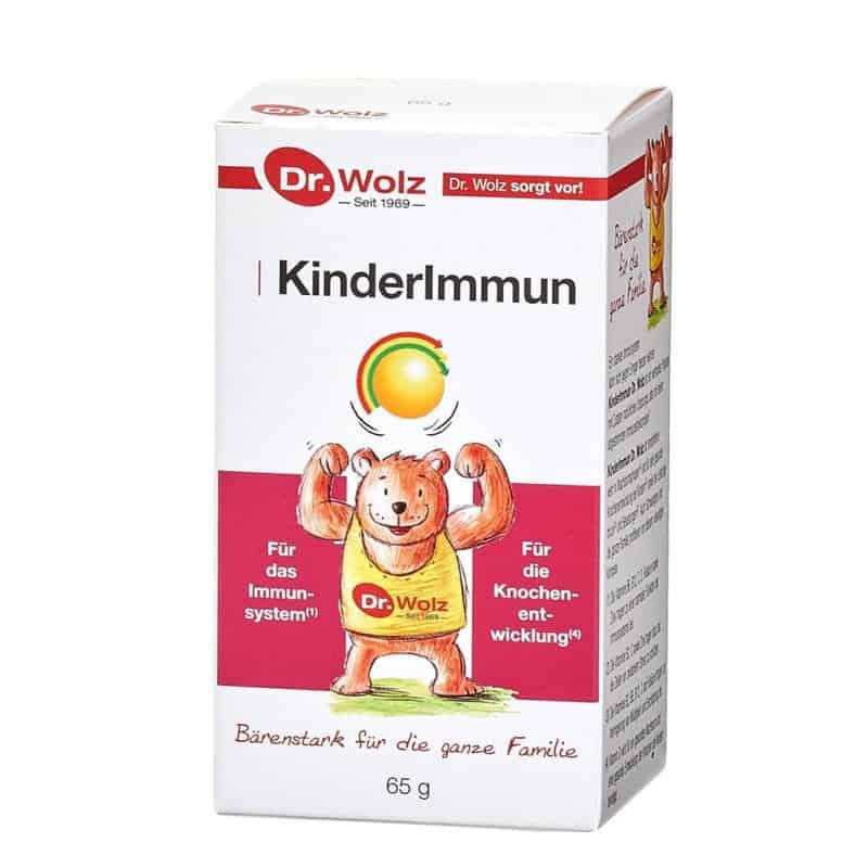Dr. Wolz Kinderlmmun Με Πρωτόγαλα & Βιταμίνη D 65gr