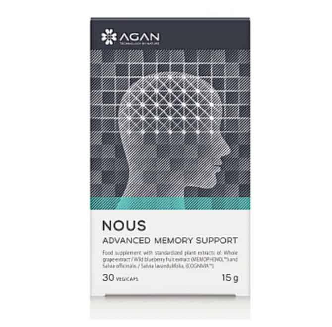 Agan Nous Advanced Memory Support 30 φυτικές κάψουλες