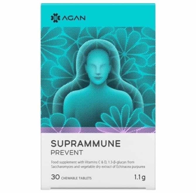 Agan Suprammune Prevent 30 μασώμενες ταμπλέτες