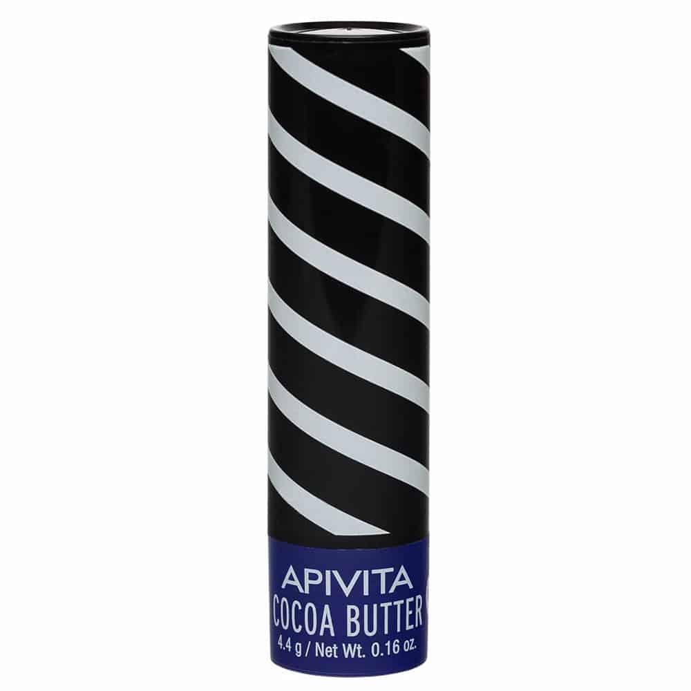 Apivita Cocoa Butter Lip Care Balm Χειλιών με Βούτυρο Κακάο SPF20, 4.4gr
