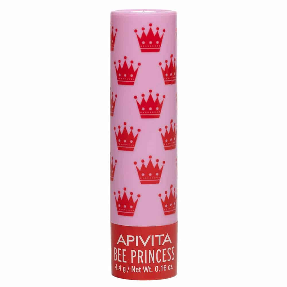 Apivita Lip Care Eco-Bio Bee Princess Βιολογική φροντίδα με Βερίκοκο και Μέλι 4.4gr