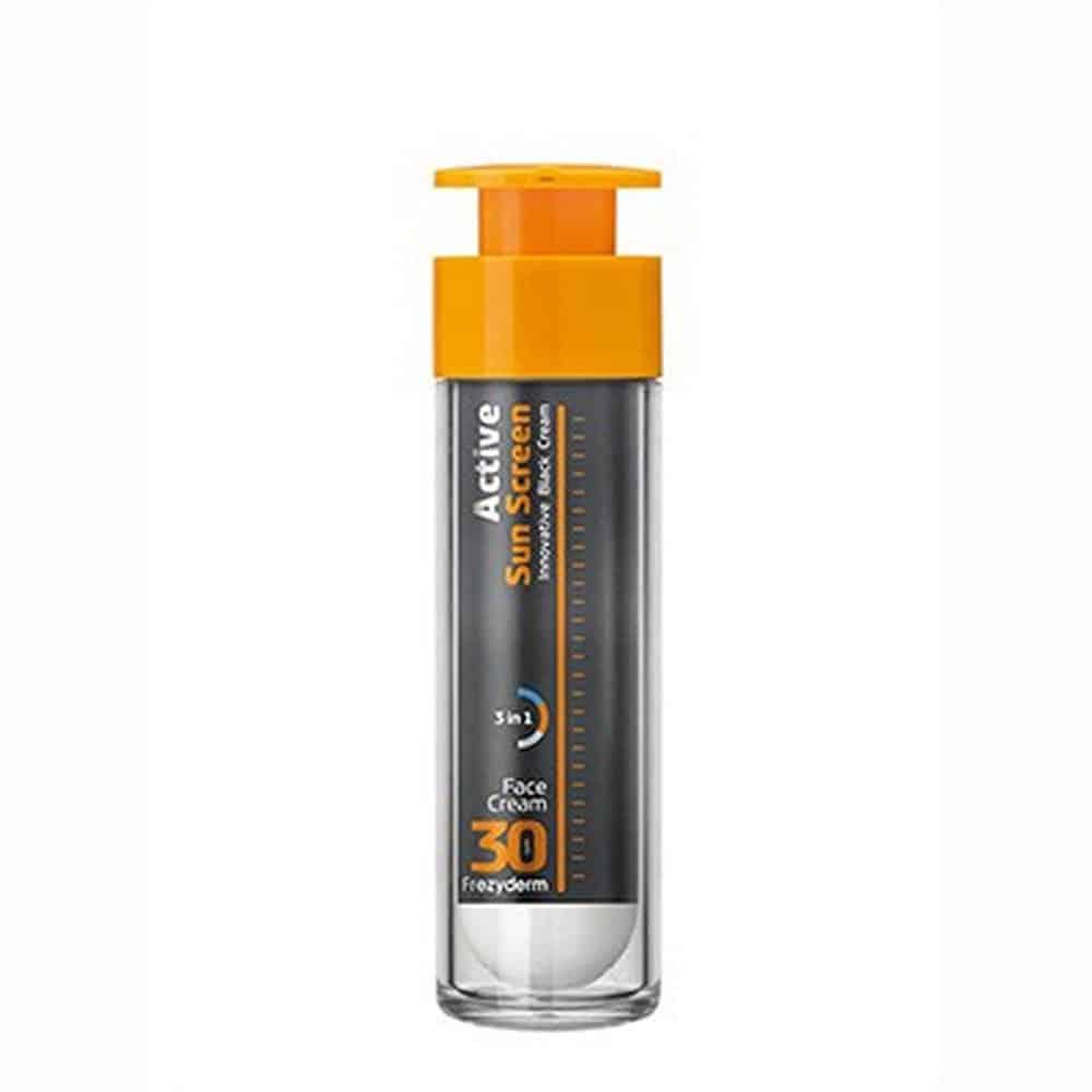 Frezyderm Active Sun Screen Face Cream Αντηλιακή Κρέμα Προσώπου SPF30 50ml