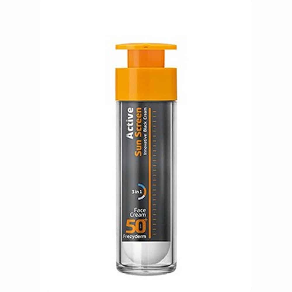 Frezyderm Active Sun Screen Face Cream SPF50+ Αντηλιακή Κρέμα Προσώπου 50ml