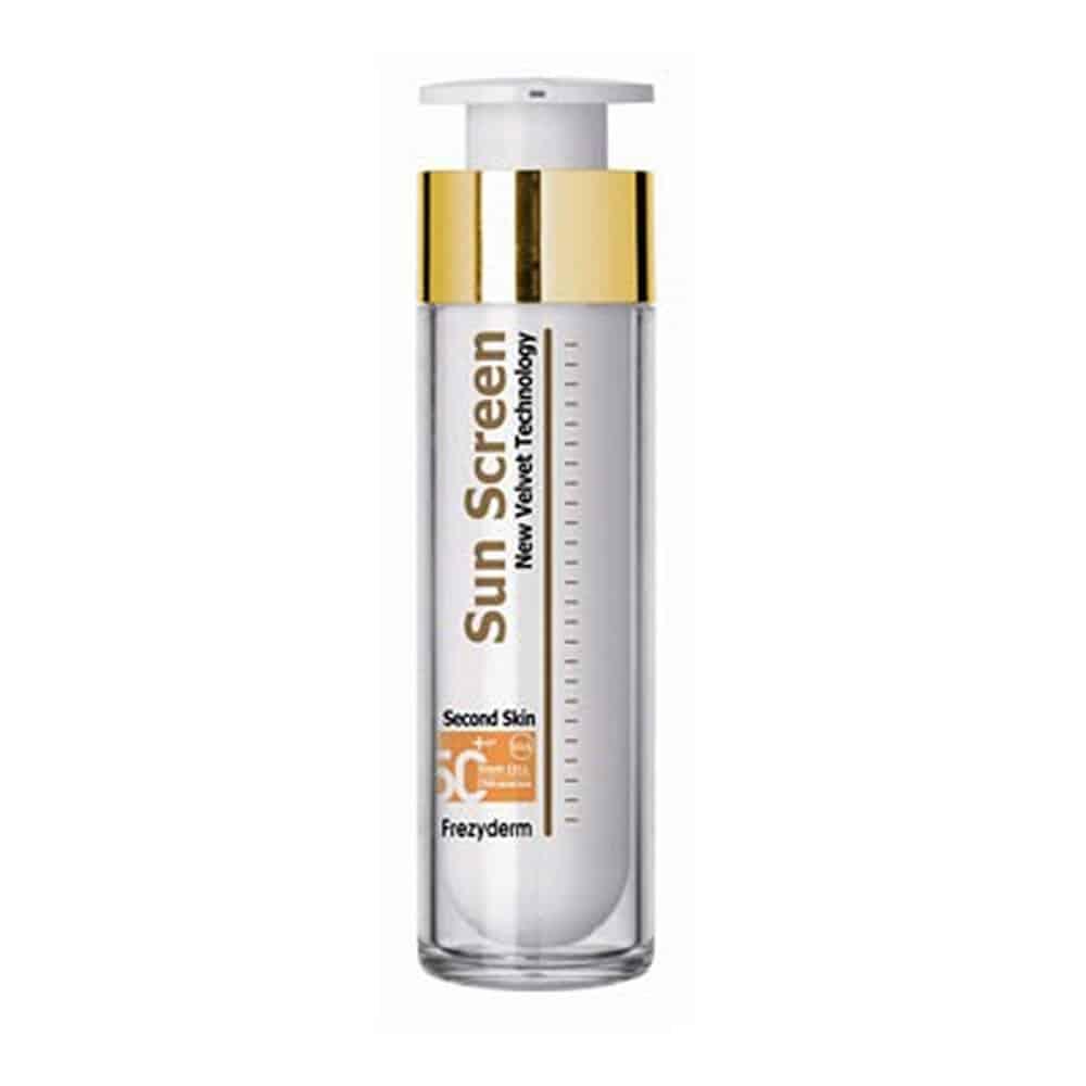 Frezyderm Sun Screen Velvet Face Cream SPF50+ Αντηλιακό Προσώπου, 50ml