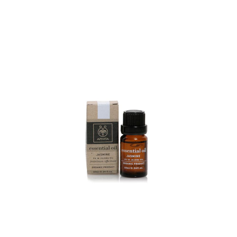 Apivita Essential Oil - Αιθέριο Έλαιο Γιασεμί 10% σε Λάδι Jojoba Euphoria 10ml