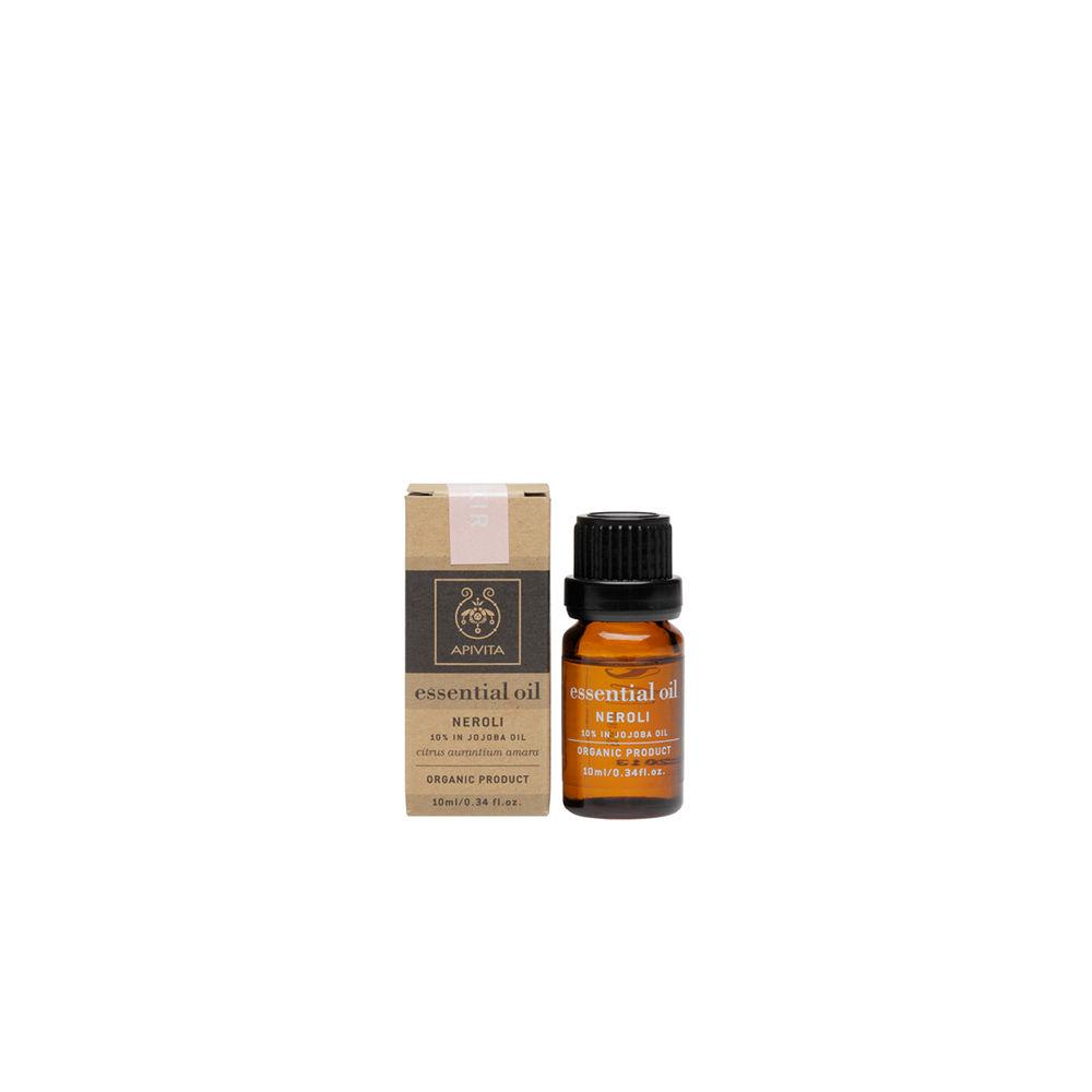 Apivita - Essential Oil Αιθέριο Έλαιο Νέρολι 10% σε Λάδι Jojoba Beauty Elixir 10ml