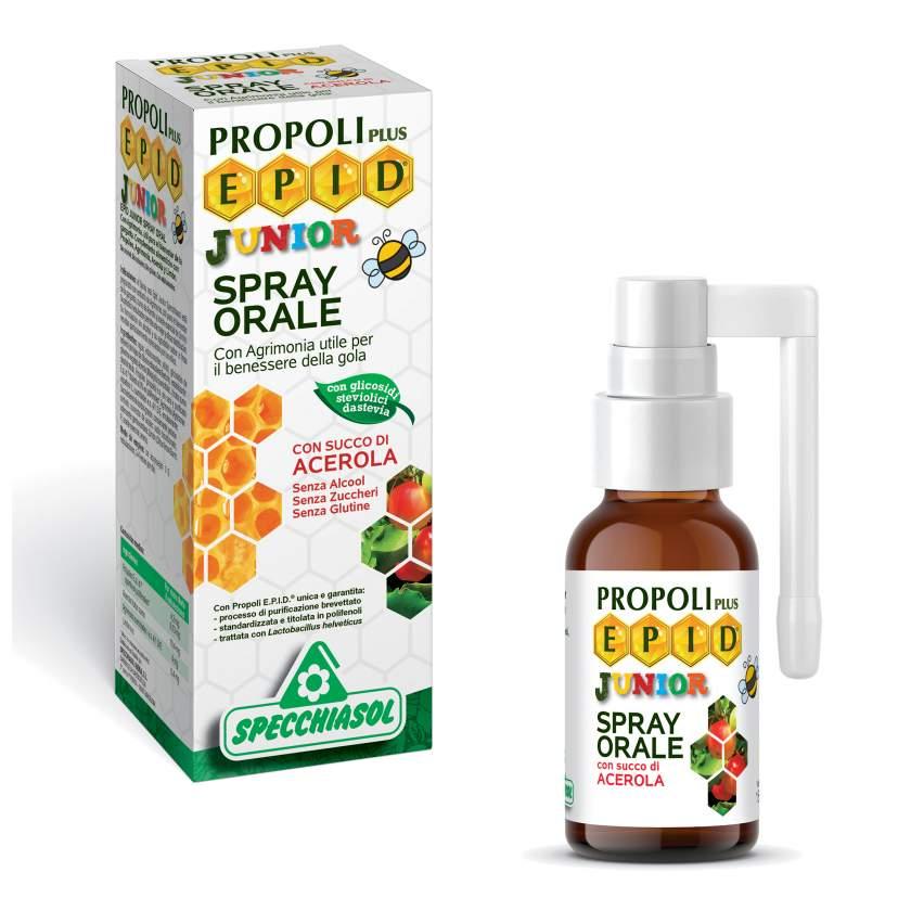 Specchiasol Epid Oral Spray Junior για τον ερεθισμένο λαιμό 15ml