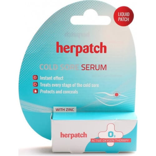 Herpatch Herpes Cold Sore Serum Υγρό Επίθεμα 5ml