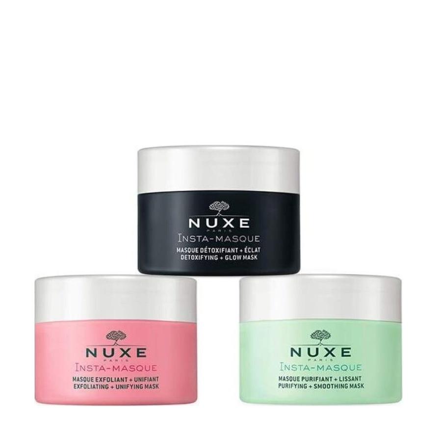 Nuxe Promo Insta Masque, Μάσκες Προσώπου 3x15ml