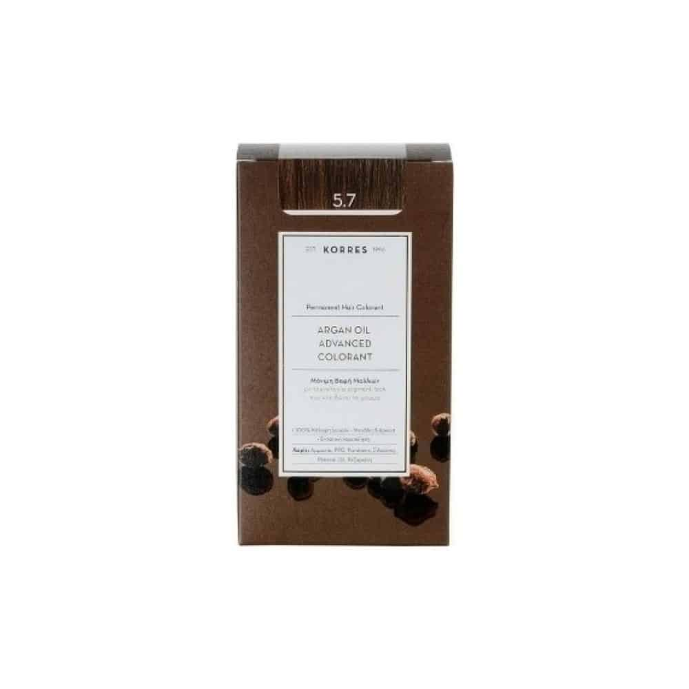 Korres Argan Oil Advanced Colorant Σοκολατί 5.7