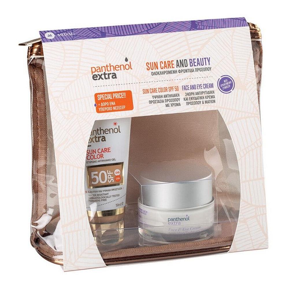 Panthenol Extra Νεσεσέρ Sun & Beauty Care Color SPF50 & Δώρο Face & Eye Cream 2x 50ml