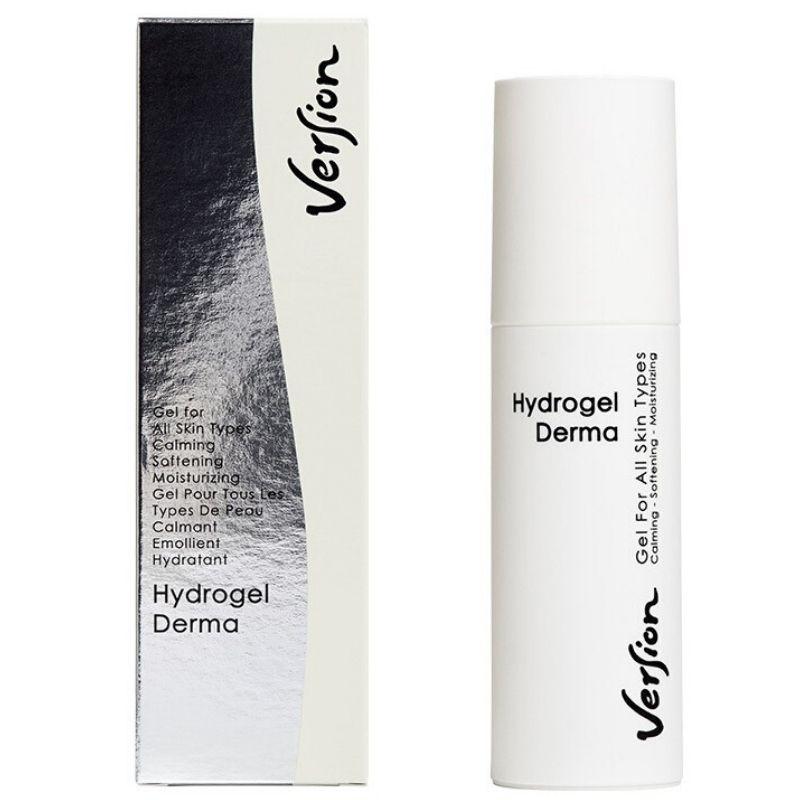 Version Hydrogel Derma Face Cream 24ωρο καταπραϋντικό gel για όλους τους τύπους δέρματος 75ml