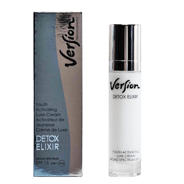 Version Detox Elixir κρέμα ημέρας 50ml