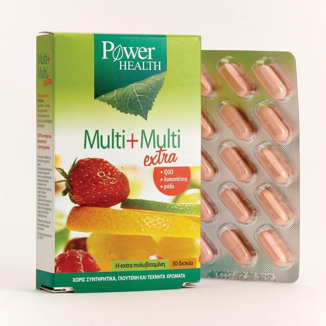 Power Health Multi+Multi Extra 30 δισκία