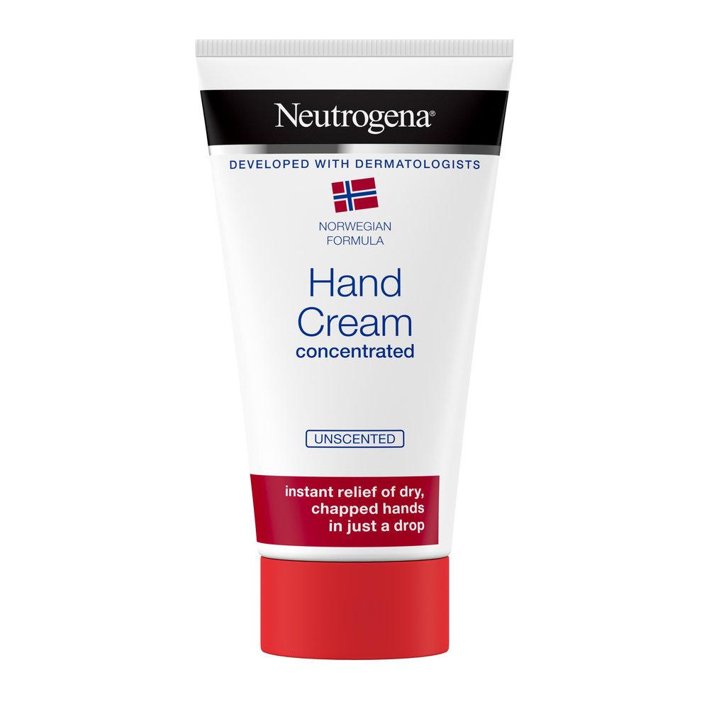 Neutrogena Κρέμα Χεριών unscented 75ml χωρίς άρωμα