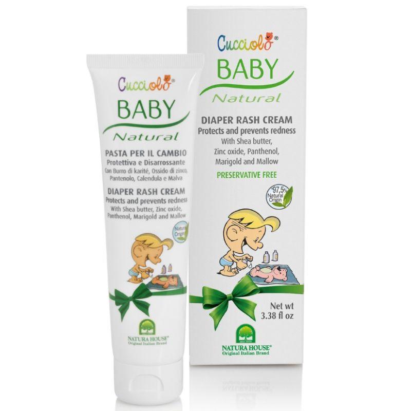 Power Health Cucciolo Baby Κρέμα Αλλαγής Πάνας 100ml