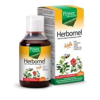 Power Health Herbomel Kids Σιρόπι για το Βήχα & το Κρυολόγημα (για Παιδιά από 3 ετών) 150ml