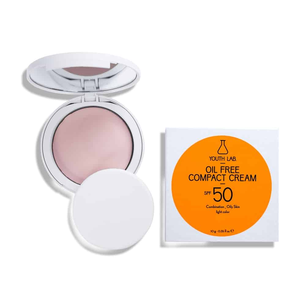 Youth Lab. Oil Free Compact Cream Combination Oily Skin Light Colour SPF50 10gr