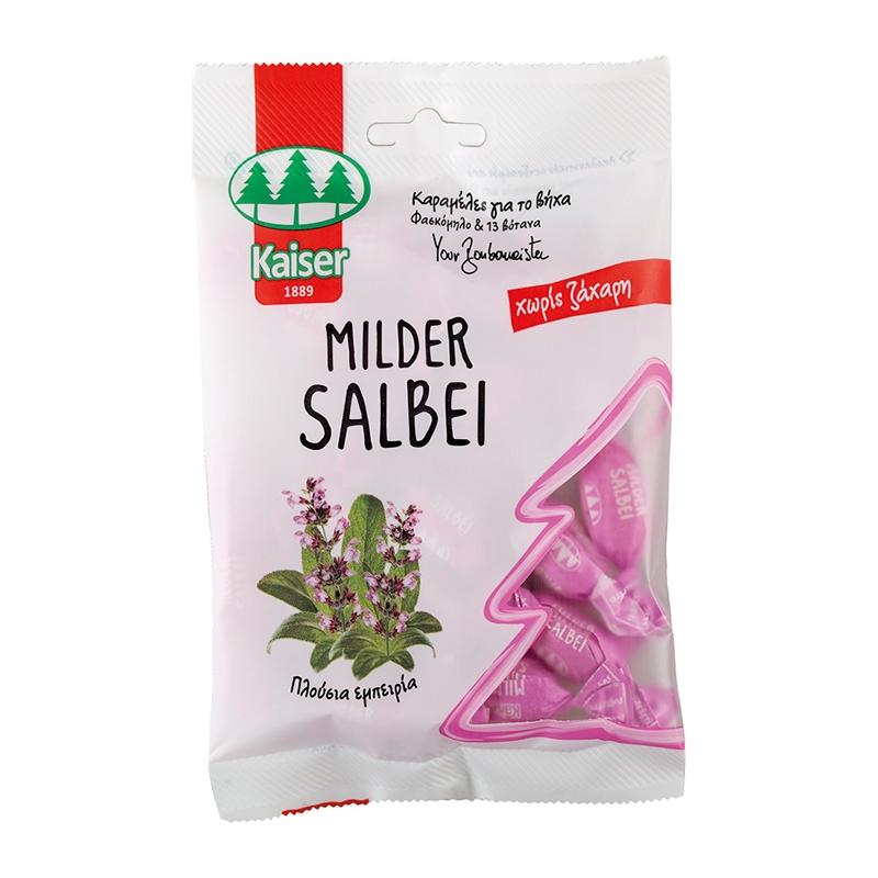 Kaiser Milder Salbei Mild Sage με Φασκόμηλο & 13 Βότανα 60gr