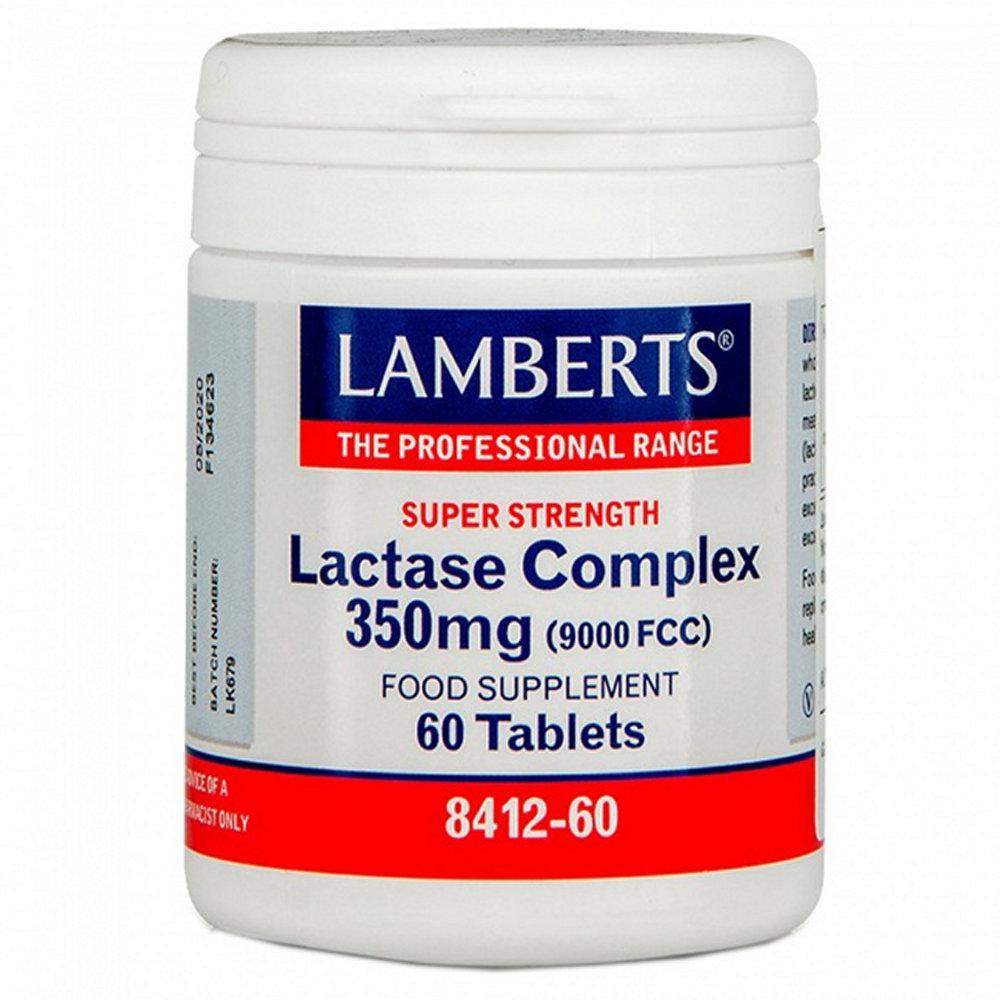 Lamberts Lactase Complex 350mg 60 ταμπλέτες