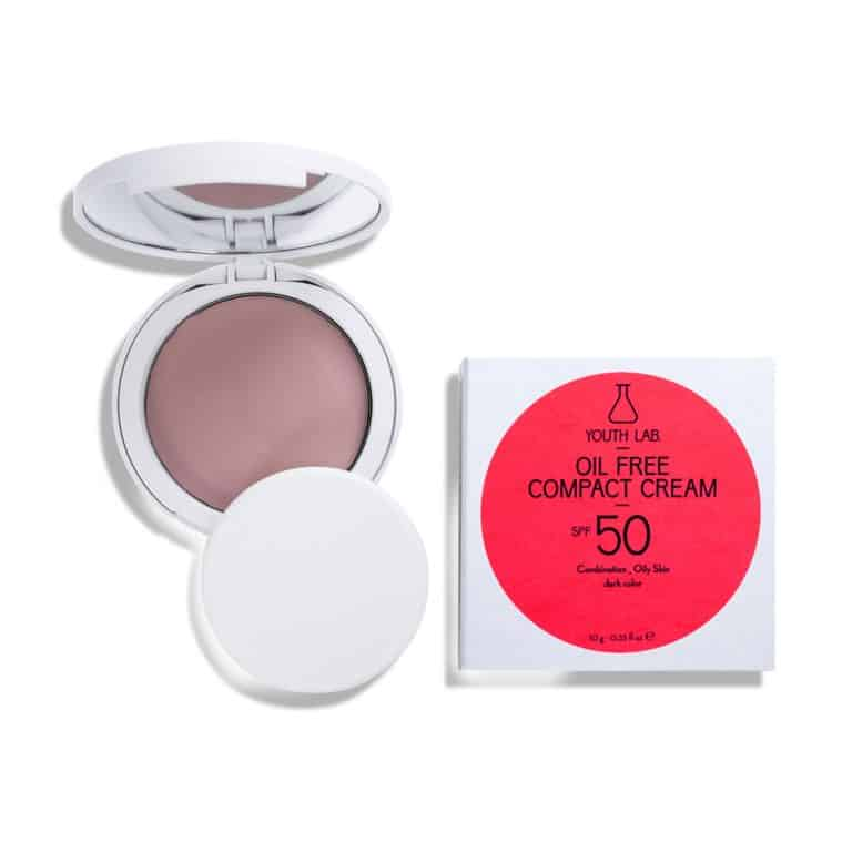 Youth Lab. Oil Free Compact Cream Dark Color SPF50 10gr