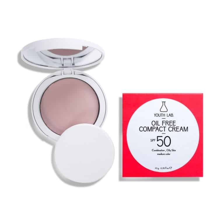 Youth Lab. Oil Free Compact Cream Medium Color SPF50 10gr