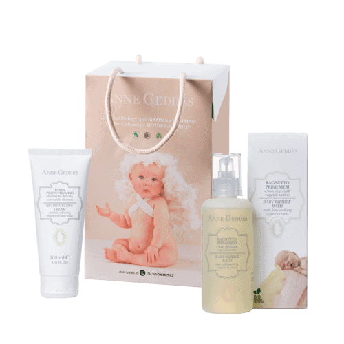 Anne Geddes Promo Shampoo and Body Bath 250ml & Soothing Face and Body Cream 100ml