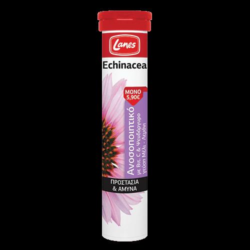 Lanes Echinacea με Βιταμίνη C, 20 ταμπλέτες αναβράζουσες