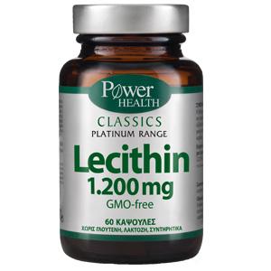 Power Health Classics Platinum Range Lecithin 1200mg 60 κάψουλες